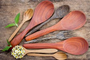 Wooden Spoons of Various Sizes